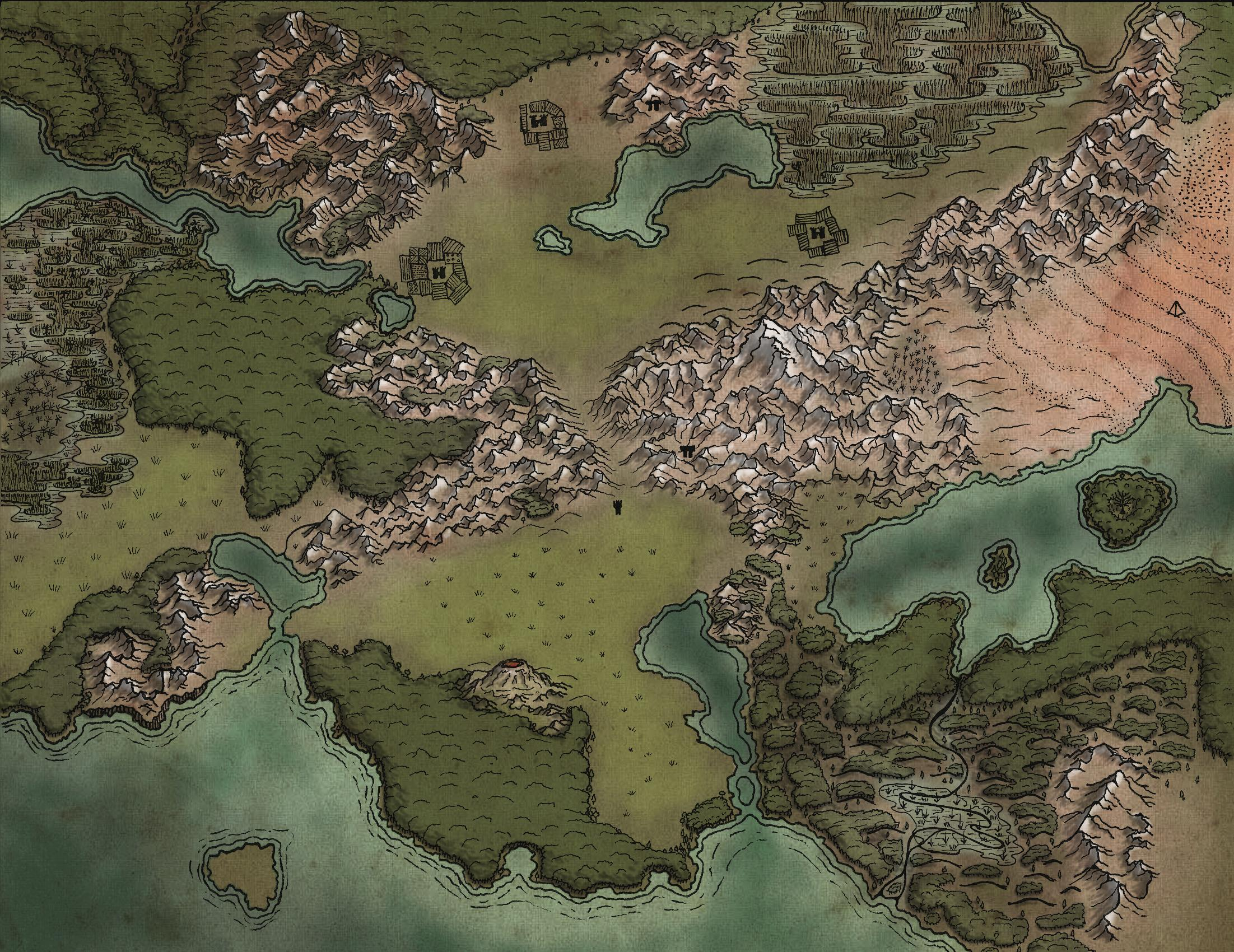 Roll20 Map Maker Ny Tourist Attractions Map on