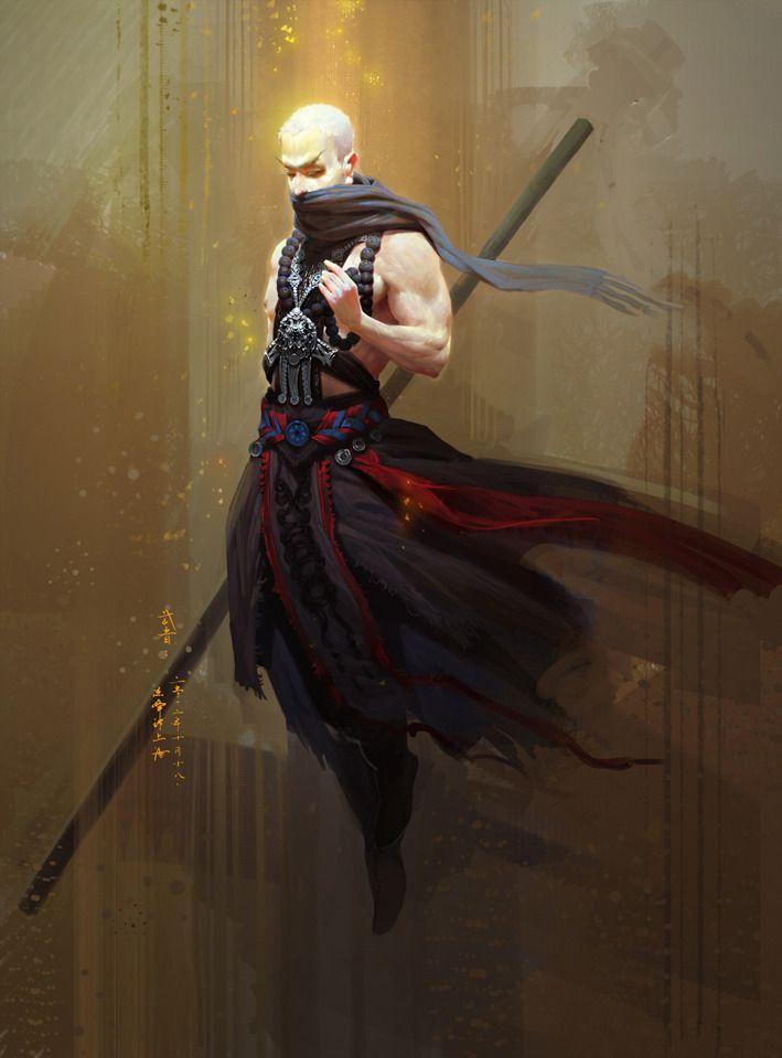 D&D spy character shadow monk warlock