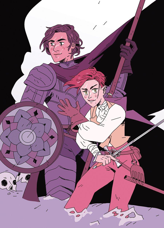 Kate Sheridan comics and D&D
