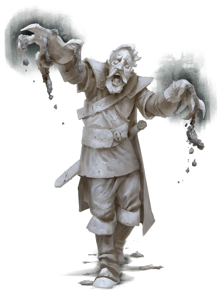 Mordenkainen's Tome of Foes stone cursed D&D monster