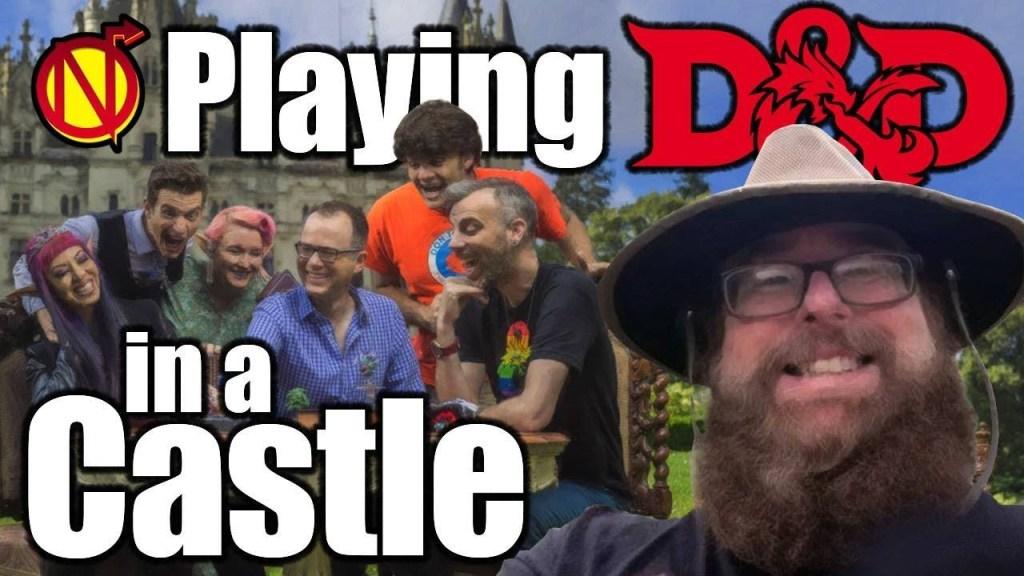 D&D in a Castle