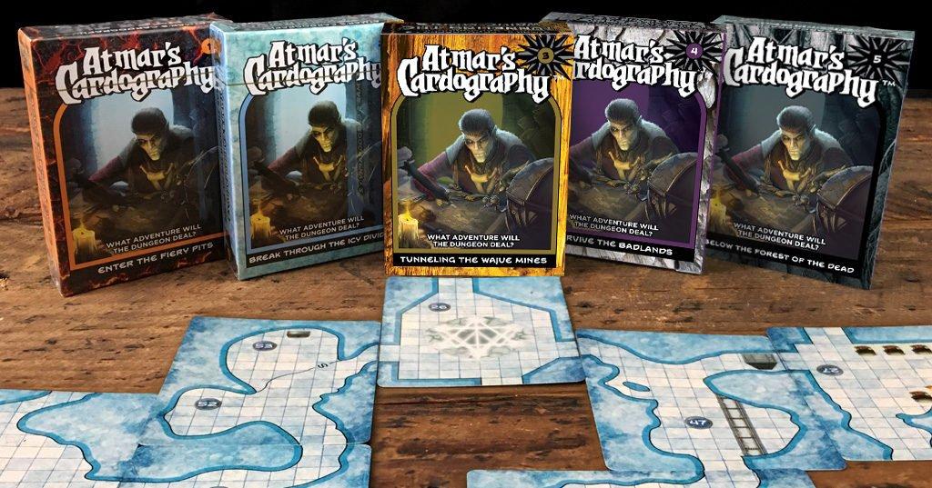 Cardography dungeon decks
