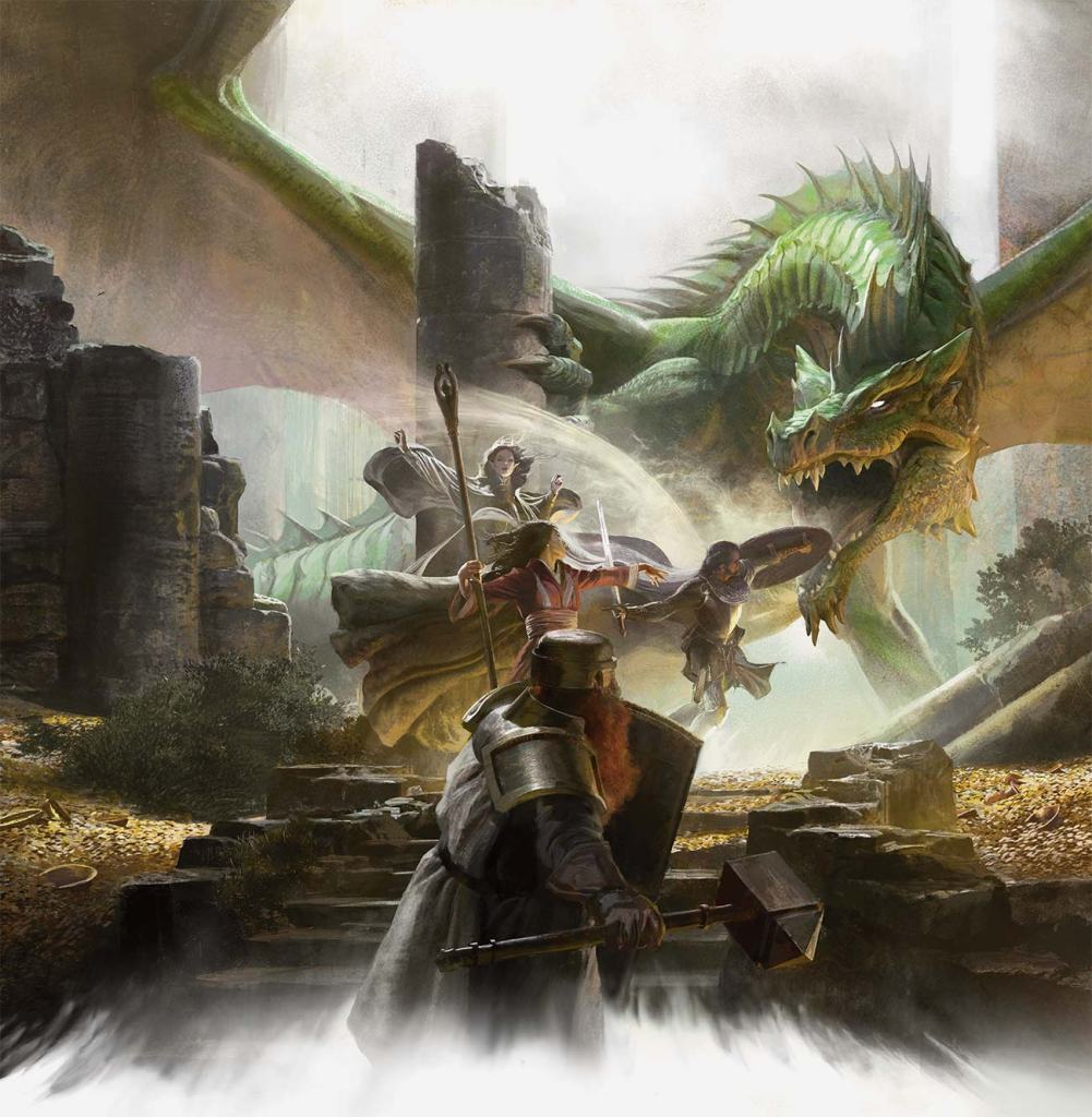 getting started with Dungeons & Dragons new D&D players