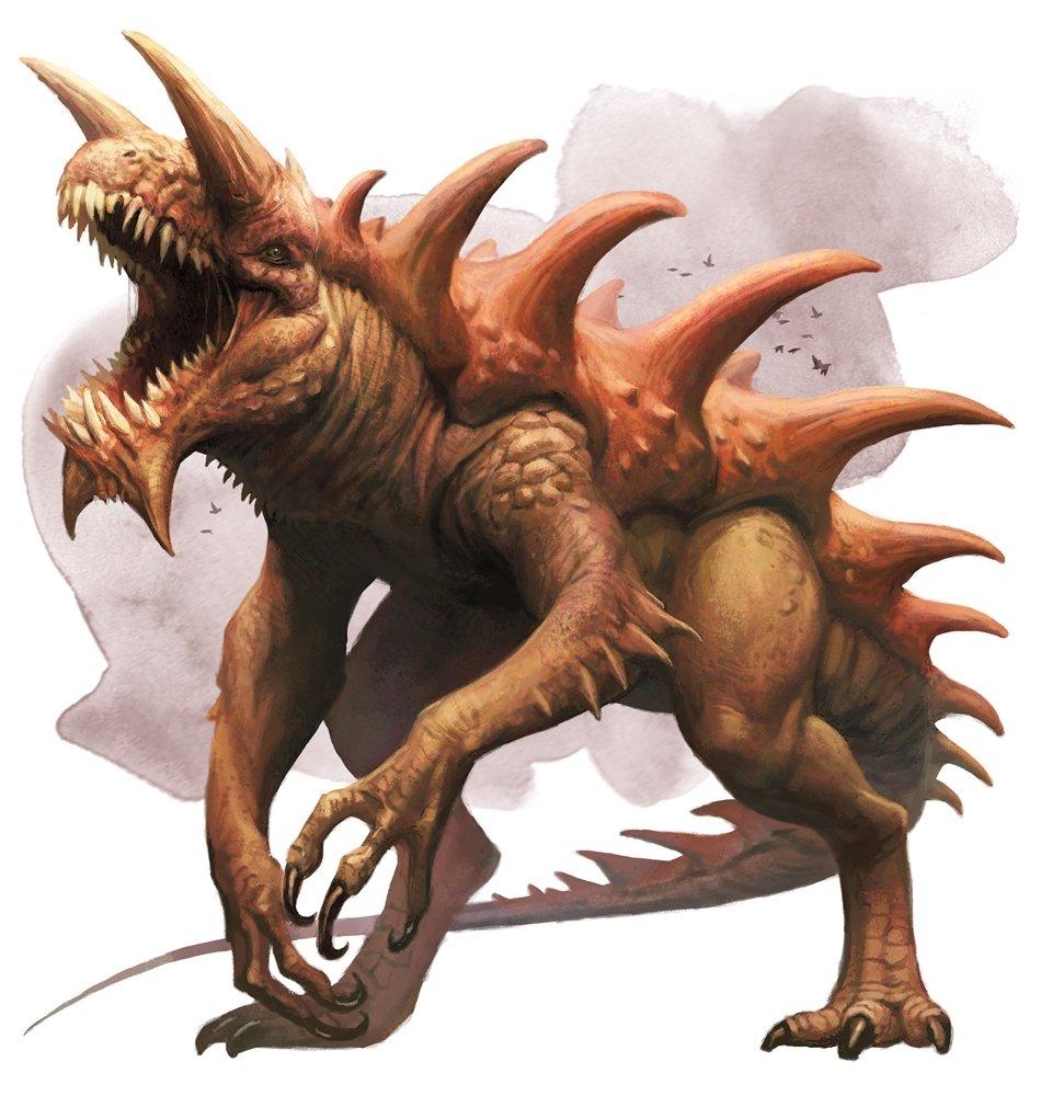 Dungeons & Dragons inhuman monsters villain