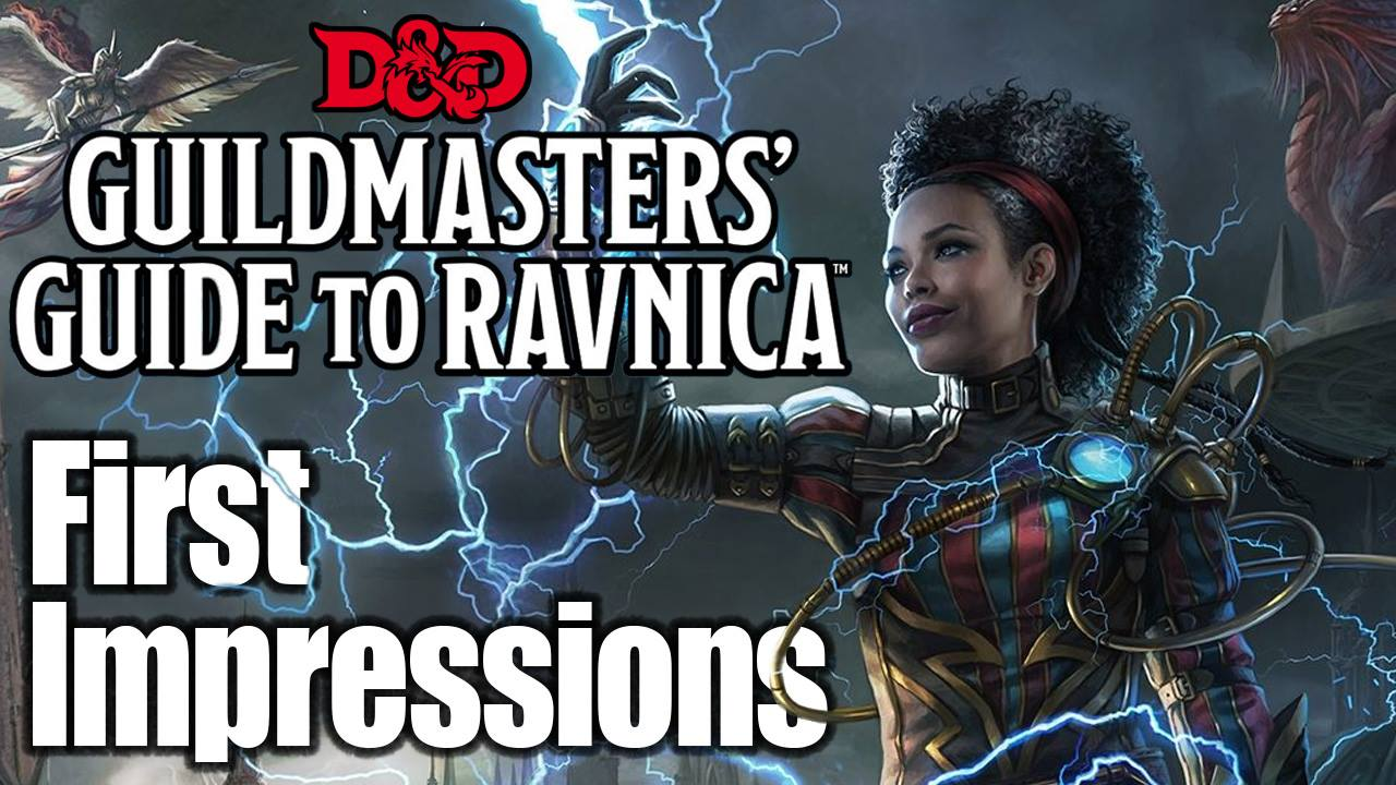 D/&D//Magic: The Gathering Adventure Book and Campaign Setting Dungeons /& Dragons Guildmasters Guide to Ravnica
