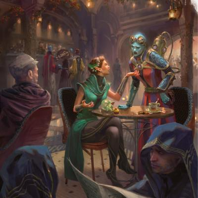 Famous Wizards of Distinction: Backgrounds and Spells of