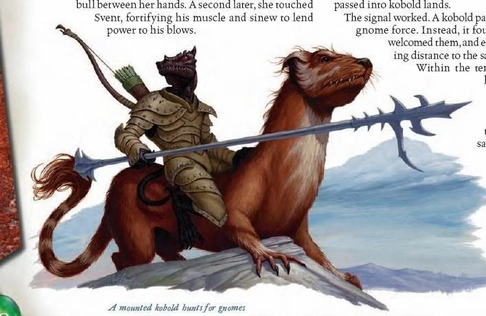 D&D Monsters — Kobolds Mounted for Combat – Nerdarchy