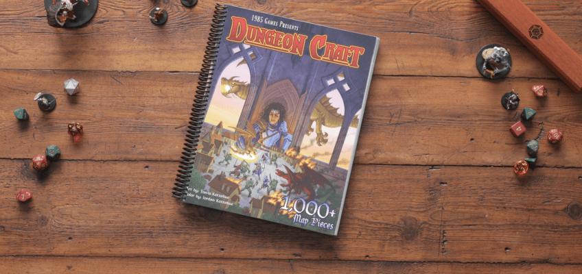 D&D battle maps paper terrain Dungeon Craft