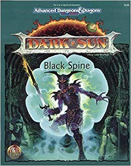 black spine dark sun