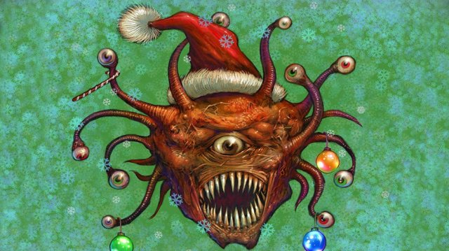San-Tac-Laus Delivers Randomized Beholder Cheer for the Holidays