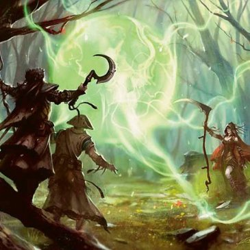 5E D&D druid spells magic druid's wave