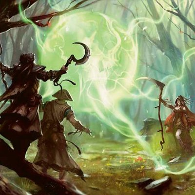 5E D&D druid spells magic druid's wave