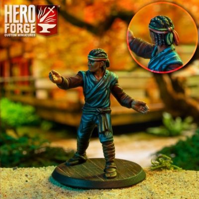 Hero Forge Adventure Calendar custom miniature