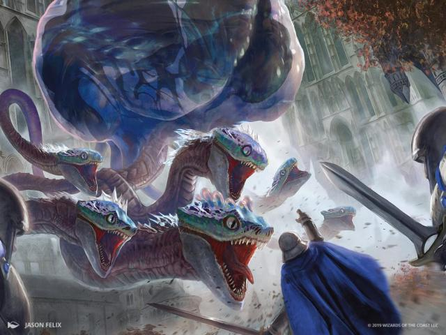 A Simic Hybrid and A Vedalken Walk into Ravnica…
