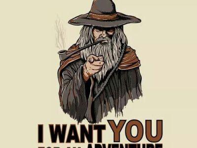 adventure wants you