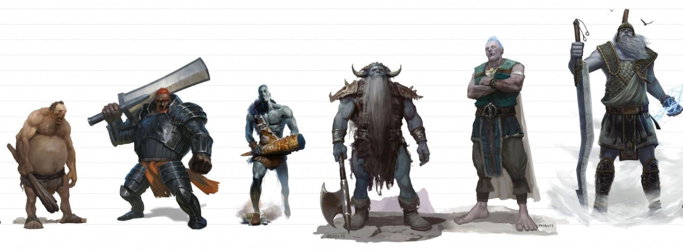 D&D giants