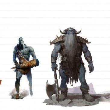 D&D giants