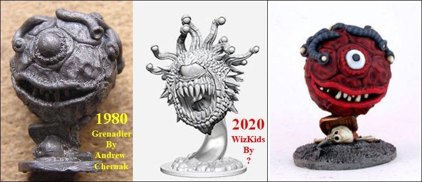 D&D beholder miniature