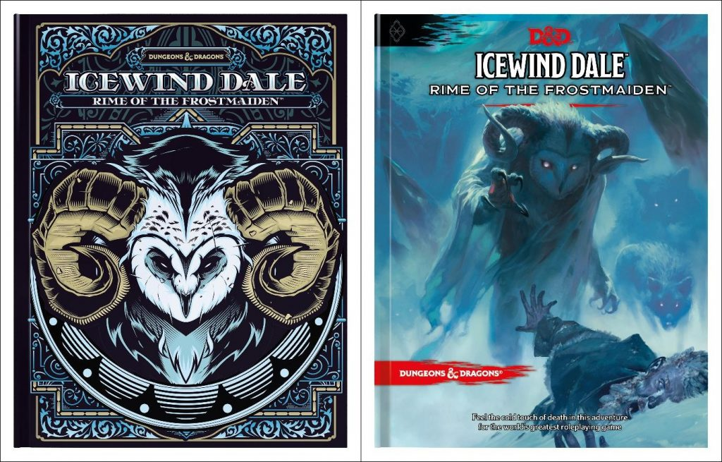 5E D&D Rime of the Frostmaiden Icewind Dale adventure