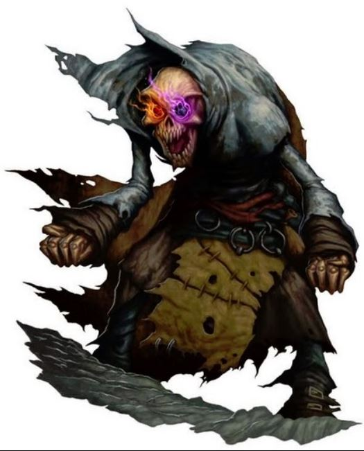 5E D&D eye of fear and flame