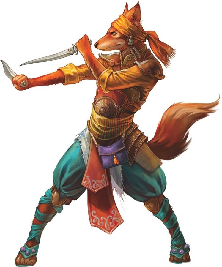 fox folk kitsune race
