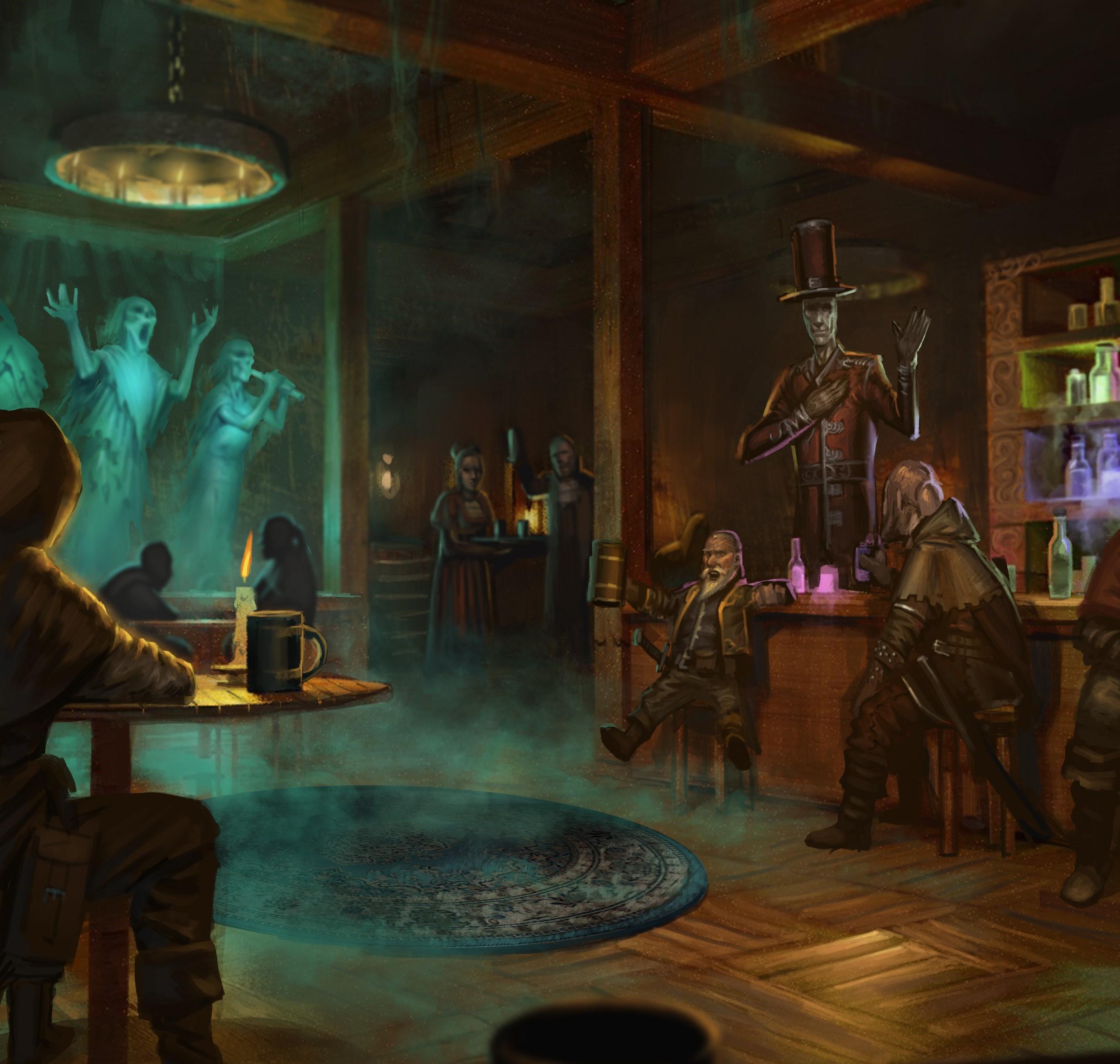 5E D&D Halloween ghost bar