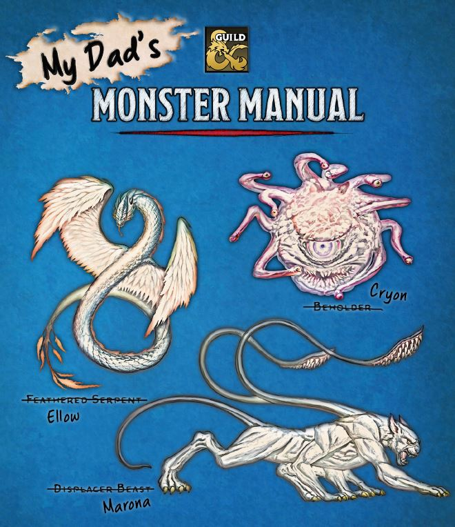 5E D&D My Dad's Monster Manual