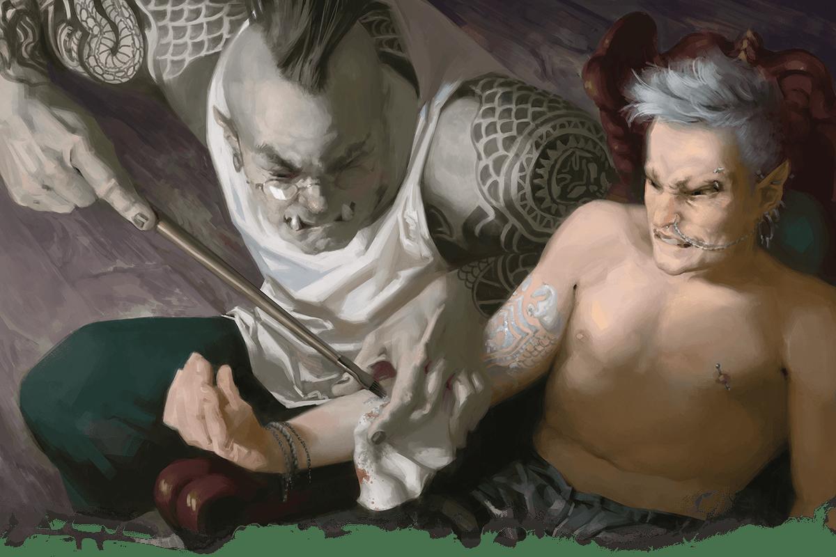 tasha's cauldron of everything magic tattoos 5E D&D