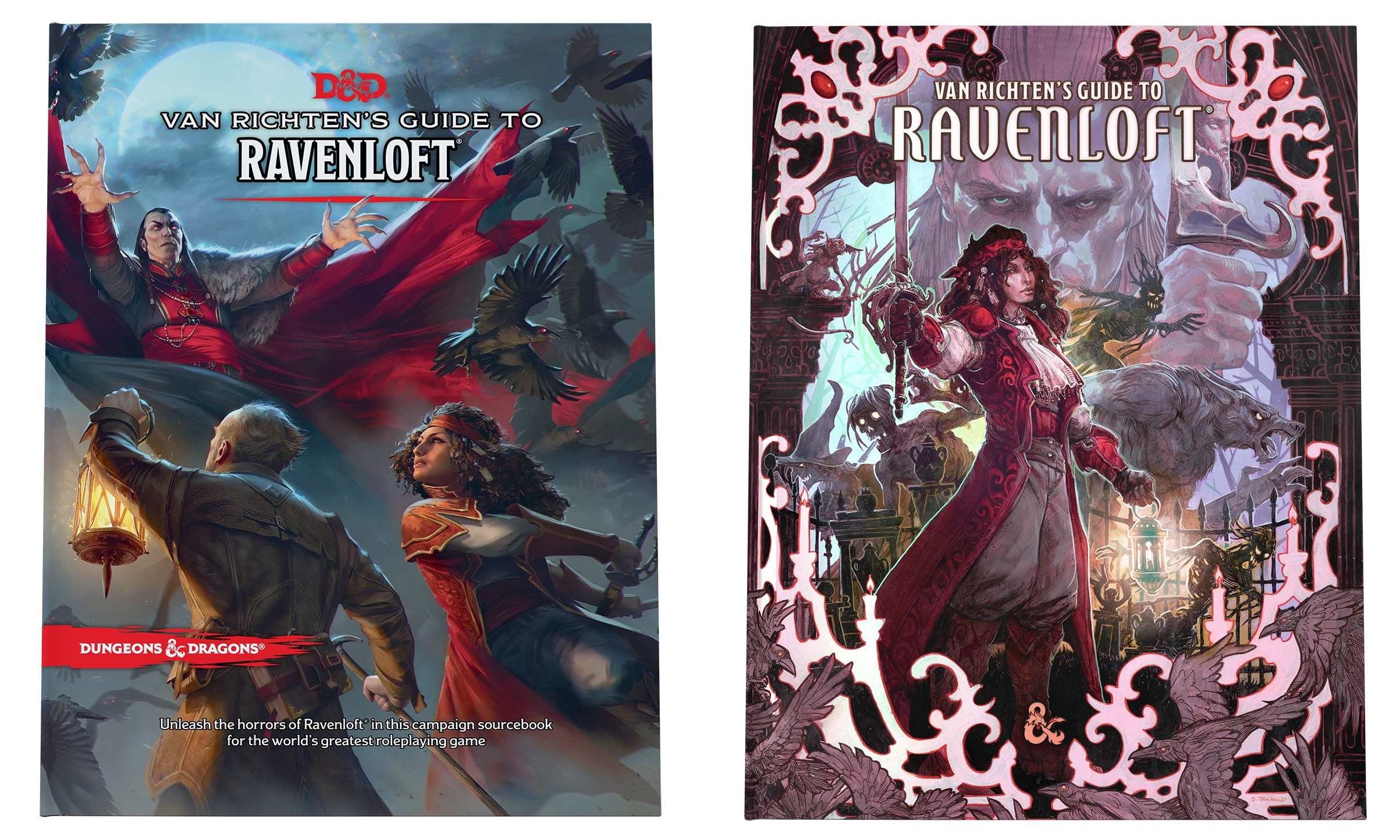5E D&D horror Van Richten's Guide to Ravenloft