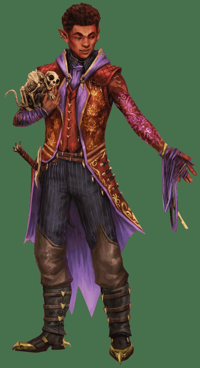 Become the Monster as The Undead Warlock from Van Richten's Guide to Ravenloft