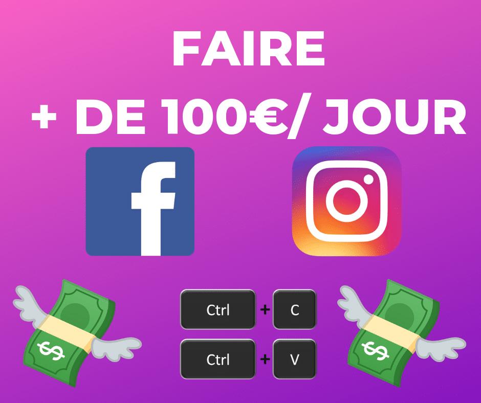 gagner 100 euros par jour