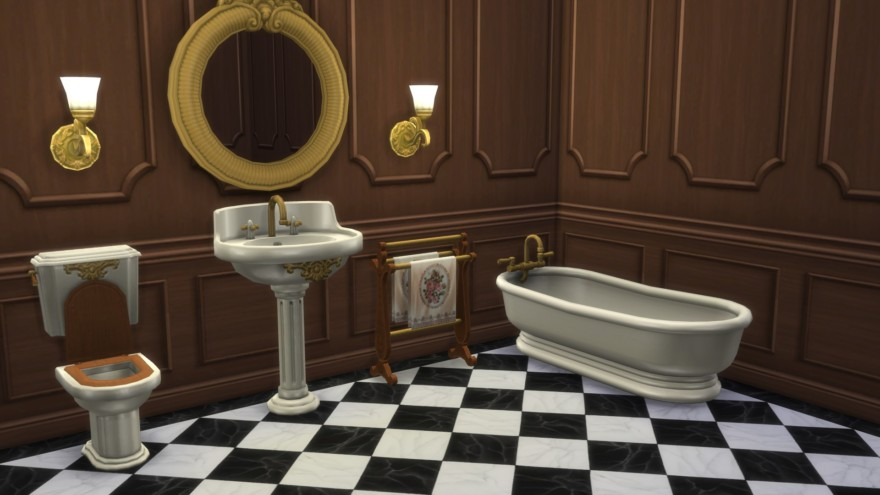 Storybook Bathroom
