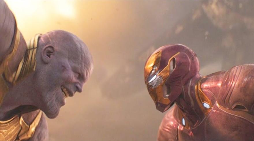 Thanos Vs Iron Man