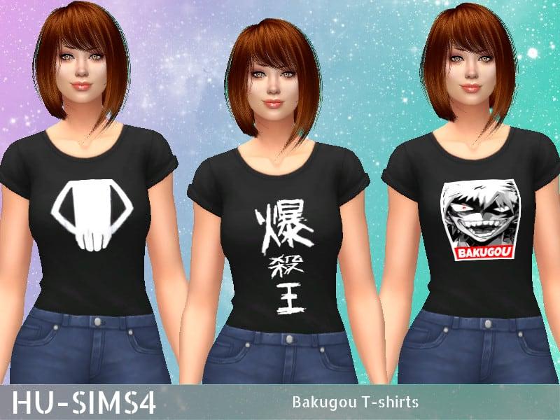 Bakugo T Shirt