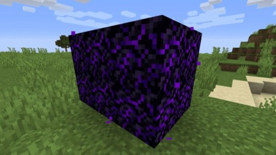 Crying Obsidian In Minecraft