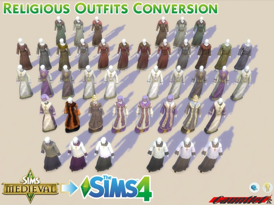 Sims 4 Medieval Conversion