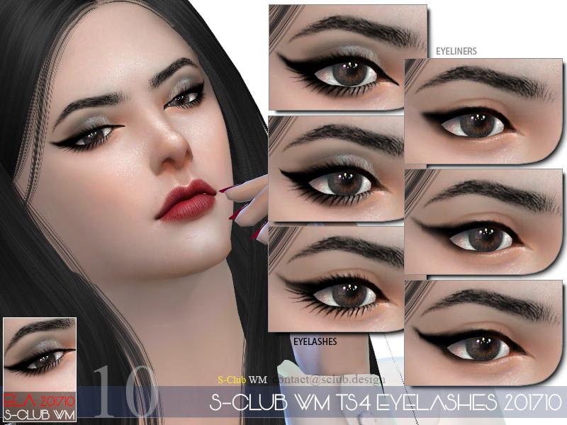 S Club Wm Ts4 Eyelashes 201710