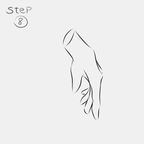 Anime Hand Side View 8