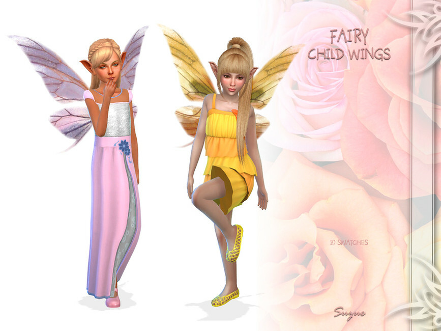 Fairy Child Wings Sims