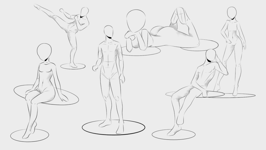 How To Draw Anime Poses