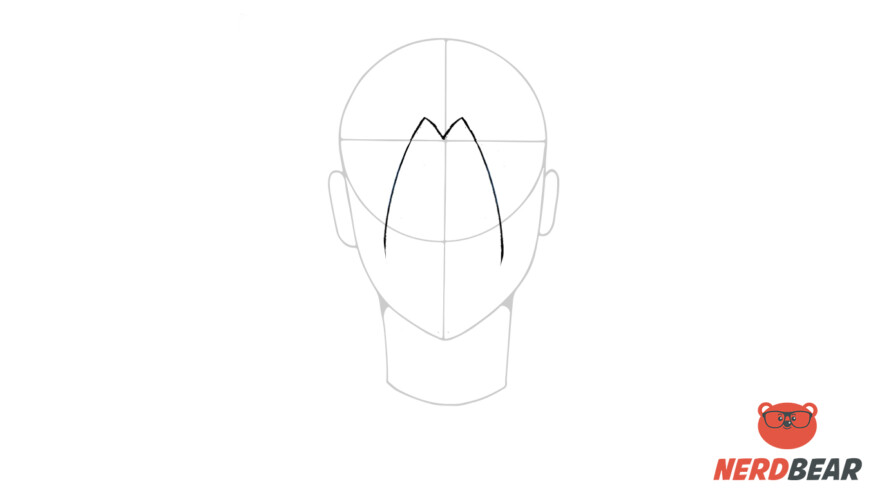 How To Draw Male Anime Hair Long Hair 1