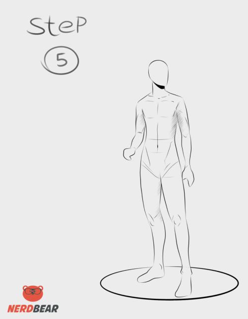 Standing Anime Boy 5