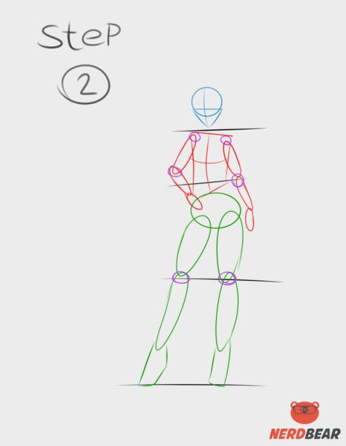 Standing Anime Girl 2