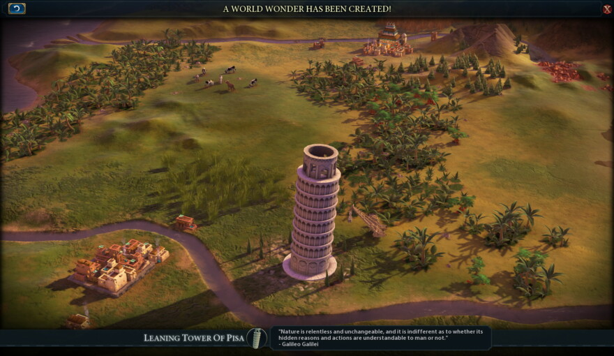 Leaning Tower Of Pisa (world Wonder)