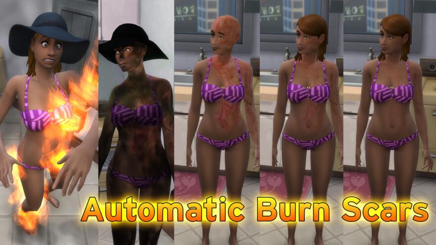 Automatic Burn Scars Skin Detail 4.2