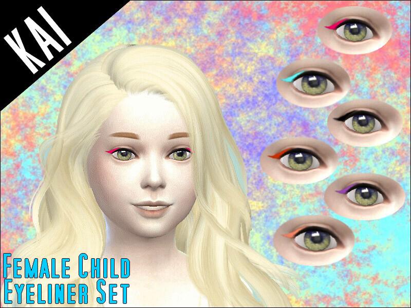Female Child Eyeliner Set