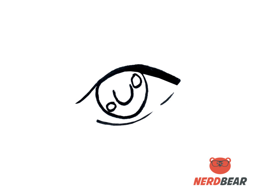 How To Draw Almond Shape Anime Eyes 3