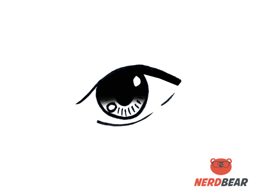 How To Draw Almond Shape Anime Eyes 6