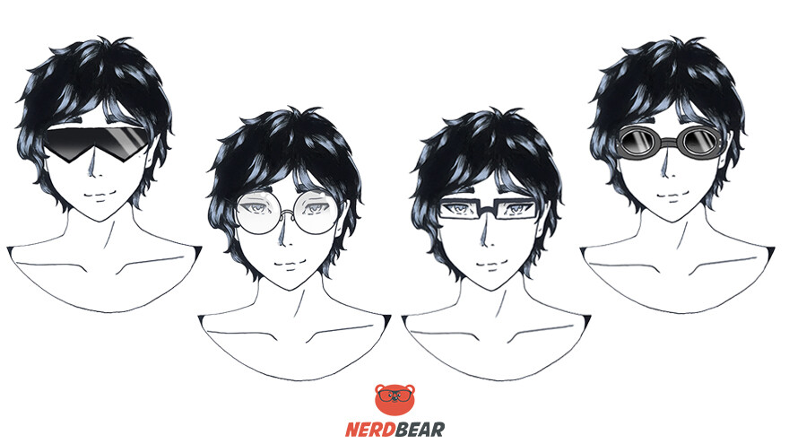 How To Draw Anime Glasses