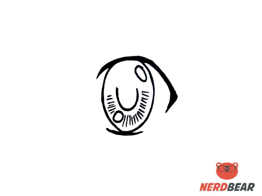 How To Draw Big Feminine Anime Eyes 4
